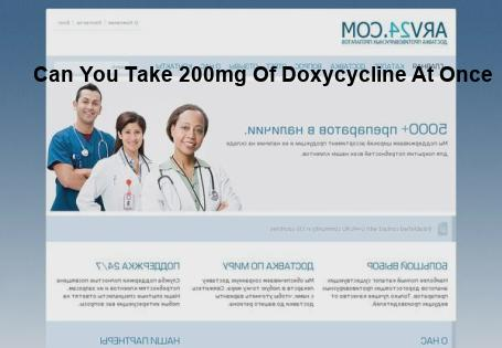 Can I Take 200mg Of Doxycycline Www Aire Org